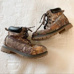 ⭐️4/$25 Real Tree Little Boy Lumber Jack Boots